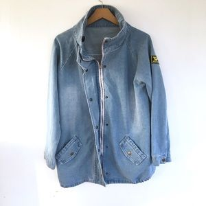 Jackets & Blazers - Vintage denim field coat